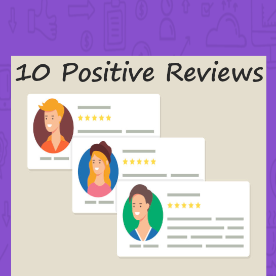 buy positive ratings and reviews