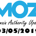 moz domain authority update